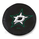 Dallas Stars Black Tire Cover, Large