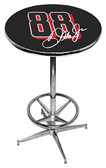 Dale Earnhardt Jr. Pub Table w/ Foot Ring Base