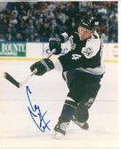 Cory Cross Tampa Bay Lightning Signed 8x10 Photo