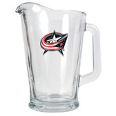Columbus Blue Jackets 60oz Glass Pitcher