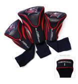 Columbus Blue Jackets 3-Pack Contour Sock Headcovers