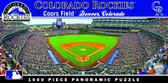 Colorado Rockies Panoramic Stadium Puzzle