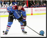 Colorado Avalanche Cody McLeod 2014-15 Action 16x20 Stretched Canvas