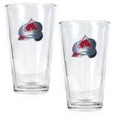 Colorado Avalanche 2pc Pint Ale Glass Set