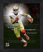 Colin Kaepernick 49ers 8x10 Framed ProQuote Photo