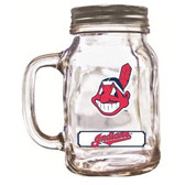 Cleveland Indians Mason Jar