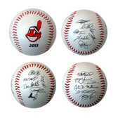 Cleveland Indians 2013 Team Roster Signature Ball