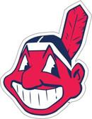 """Cleveland Indians 12"""" Vinyl Magnet Set of 2"""