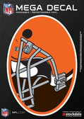 "Cleveland Browns 5""x7"" Mega Decal"