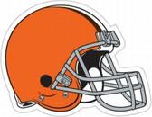 """Cleveland Browns 12"""" Helmet Car Magnet"""
