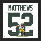 Clay Matthews Green Bay Packers 20x20 Framed Uniframe Jersey Photo