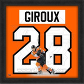 Claude Giroux Philadelphia Flyers 20x20 Framed Uniframe Jersey Photo