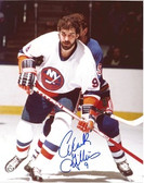 Clark Gillies New York Islanders Signed 8x10 Photo