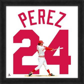 Cincinnati Reds Tony Perez 20x20 Framed Uniframe Jersey Photo