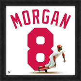Cincinnati Reds Joe Morgan 20x20 Framed Uniframe Jersey Photo