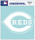 "Cincinnati Reds 8""x8"" Die-Cut Decal"