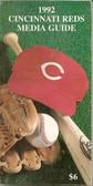Cincinnati Reds 1992 Media Guide