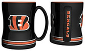 Cincinnati Bengals Coffee Mug - 15oz Sculpted