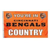 Cincinnati Bengals 3 Ft. X 5 Ft. Flag W/Grommets 94118B