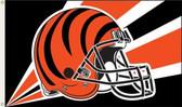 Cincinnati Bengals 3 Ft. x 5 Ft. Flag w/Grommets