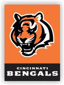 Cincinnati Bengals 2-Sided 28 x 40 House Banner