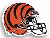 "Cincinnati Bengals 12"" Helmet Car Magnet"