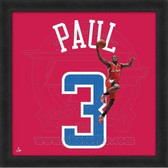 Chris Paul Los Angeles Clippers 20x20 Framed Uniframe Jersey Photo