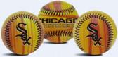 Chicago White Sox Wood Grain Baseball