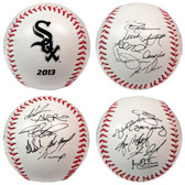 Chicago White Sox 2013 Team Roster Signature Ball