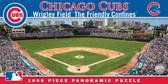 Chicago Cubs Panoramic Stadium Puzzle