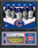 Chicago Cubs 2013 Team Composite Plaque