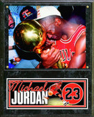 "Chicago Bulls Michael Jordan 12""x15"" Plaque # 4"