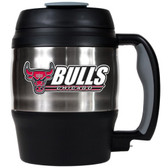Chicago Bulls 52oz. Stainless Steel Macho Travel Mug with Bottle Opener