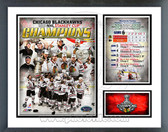 Chicago Blackhawks 2010 Stanley Cup Champion Milestones & Memories Framed Photo