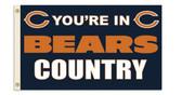 Chicago Bears 3 Ft. X 5 Ft. Flag w/Grommets 94101B