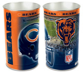 "Chicago Bears 15"" Wastebasket"