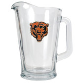 Chicago Bears  60oz Glass Pitcher - Primary Logo