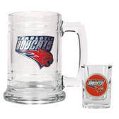 Charlotte Bobcats Shot Glass and Mug Set