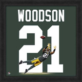 Charles Woodson Green Bay Packers 20x20 Framed Uniframe Jersey Photo