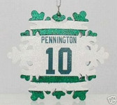Chad Pennington New York Jets Snowflake Ornament
