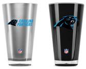 Carolina Panthers Tumblers - Set of 2 (20 oz)