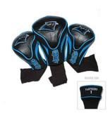 Carolina Panthers 3 Pack Contour Sock Headcovers