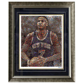 Carmelo Anthony Framed 16x20 Mosaic
