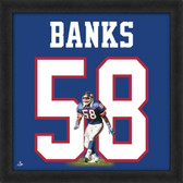 Carl Banks New York Giants 20x20 Framed Uniframe Jersey Photo
