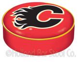 Calgary Flames Bar Stool Seat Cover
