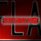 Calgary Flames Avenue Sign