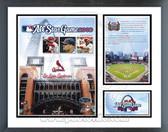 Busch Stadium / '09 ASG Milestones & Memories Framed Photo