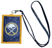 Buffalo Sabres Beaded Lanyard Wallet