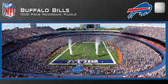 Buffalo Bills Panoramic Stadium Puzzle