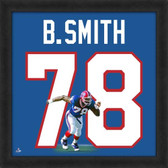 Bruce Smith Buffalo Bills 20x20 Framed Uniframe Jersey Photo